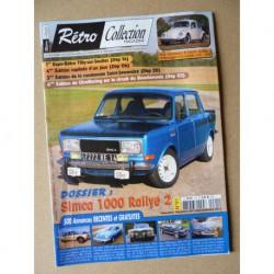 Rétro Collection n°91, Simca 1000 Rallye 2, Volkswagen Coccinelle 1200 69