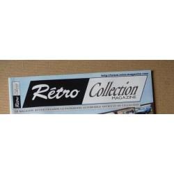 Rétro Collection HS n°3, Citroën DS23 Pallas, Bugatti Stelvio, Aston DB6, Volkswagen Ovale, Sunbeam Alpine