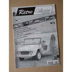 Rétro Collection n°5, Citroën Méhari
