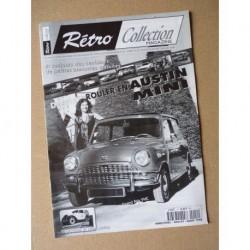 Rétro Collection n°12, les Austin Mini, Renault Juvaquatre 5cv boulangère