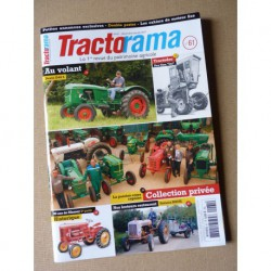 Tractorama n°61, Deutz D40S, Raynal, Japy moteurs