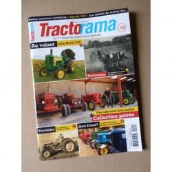 Tractorama n°64, John Deere 730, moteur Capitaine, la moisson