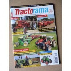 Tractorama n°72, McCormick Famall F-235D, New Holland prototype, 100 ans Renault, Nicola