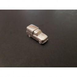 Miniature Renault 4 Fourgonnette, F4, en étain poli 1/160e