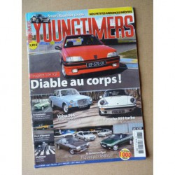 Youngtimers n°86, Peugeot 106 Xsi, Smat Roadster coupé, Porsche 911 turbo, Volvo 164