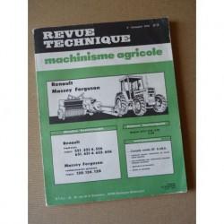 RTMA Renault 551, 551-4, 556, 651, 651-4, 652, 656. Massey Ferguson presse 120, 124, 128