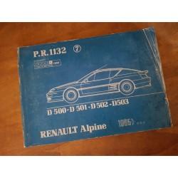 Alpine GTA et A610 1985-94, catalogue de pièces original