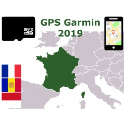 carte 2019 France Corse Andorre Monaco. microSD GPS Garmin