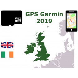 carte 2019 Royaume-Uni Angleterre Écosse Galles. microSD GPS Garmin nuvi zumo edge oregon