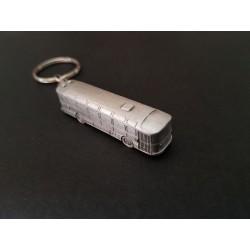 Porte-clés car Saviem S53, S45, S105, en étain 1/220e