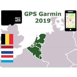 carte 2019 Belgique Pays-Bas Luxembourg. microSD GPS Garmin nuvi zumo edge oregon