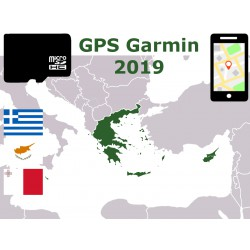 carte 2019 Grèce Chypre Malte. microSD GPS Garmin nuvi zumo edge oregon