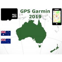 carte 2019 Australie Nouvelle-Zélande. microSD GPS Garmin