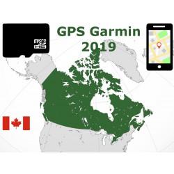 carte 2019 Canada. microSD GPS Garmin