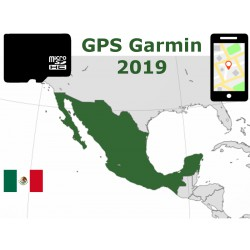 carte 2019 Mexique. microSD GPS Garmin nuvi zumo edge oregon