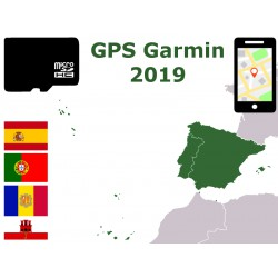carte 2019 Espagne Portugal Baleares Canaries Açores Madeire Gibraltar. microSD GPS Garmin nuvi zumo edge oregon