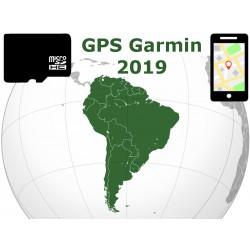 carte 2019 Amérique du Sud. microSD GPS Garmin nuvi zumo edge oregon