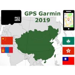 carte 2019 Chine Mongolie Taïwan Macao Hong Kong. microSD GPS Garmin nuvi zumo edge oregon