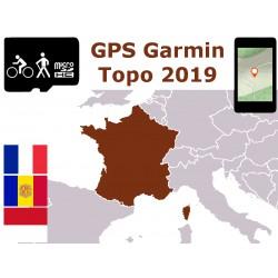 carte topo 2019 France Corse Andorre Monaco. microSD GPS Garmin nuvi zumo edge oregon