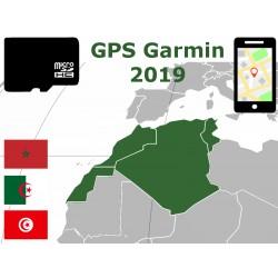 carte 2019 Maroc Algérie Tunisie. microSD GPS Garmin nuvi zumo edge oregon