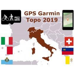 carte topo 2019 Italie Sicile Sardaigne Suisse Liechtenstein Malte. microSD GPS Garmin edge oregon gpsmap etrex
