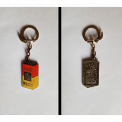 porte-clés café Nico, tacot Packard 1912 (pc)