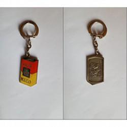 porte-clés café Nico, tacot Peugeot 1901 (pc)