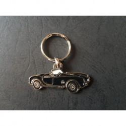 Porte-clés profil Shelby AC Cobra (noir)