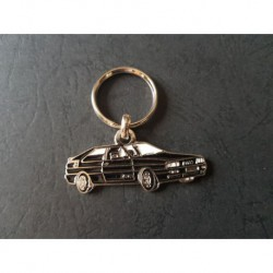 Porte-clés profil Audi Quattro, UR-Quattro (noir)