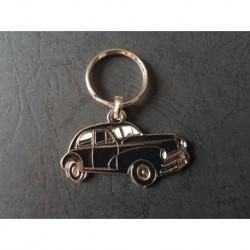 Porte-clés profil Peugeot 203 berline (noir)