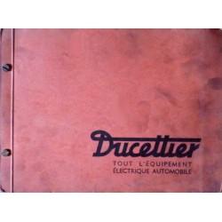 Ducellier, catalogue général 1965
