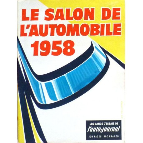 L'Auto Journal, salon 1958