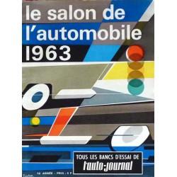 L'Auto Journal, salon 1963