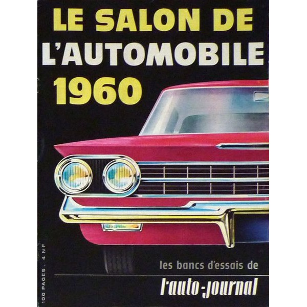 l 39 auto journal salon de l 39 automobile 1960. Black Bedroom Furniture Sets. Home Design Ideas