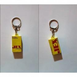 porte-clés boites tampons Jex au savon (pc)