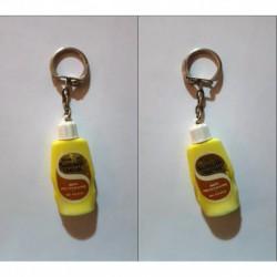 porte-clés bouteille shampooing Sunsilk traitant anti-pélliculaire (pc)