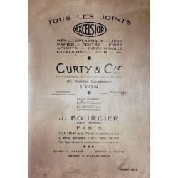 Curty & Cie Excelsior, tous les joints avant 1935