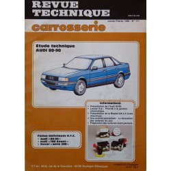 Technique carrosserie Audi 80, 90 B3
