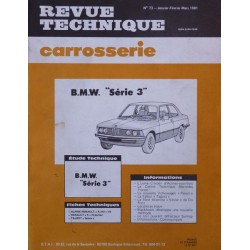 Technique carrosserie BMW Série 3, E21
