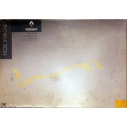 Renault, catalogue des échappements 1996 et avant