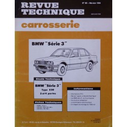 Technique carrosserie BMW Série 3, E30