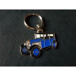 Porte-clés profil Peugeot 201 (bleu)