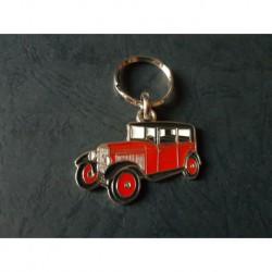 Porte-clés profil Peugeot 201 (rouge)