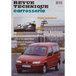 Technique carrosserie Citroën Berlingo I et Peugeot Partner I