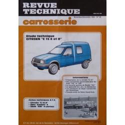 Technique carrosserie Citroën C15