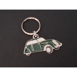 Porte-clés profil Peugeot 202 (vert)