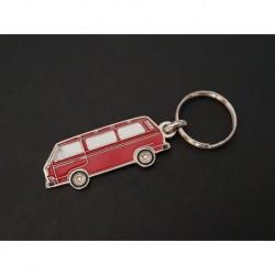 Porte-clés profil Volkswagen Transporter T3, Combi (rouge)