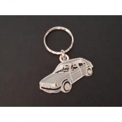 Porte-clés profil Simca Talbot Horizon, Chrysler (gris)