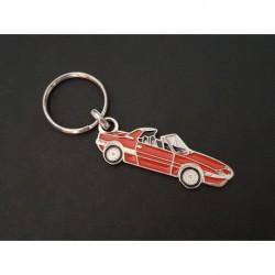 Porte-clés profil Fiat X1/9 (orange)