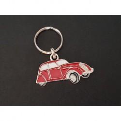 Porte-clés profil Peugeot 202 (rouge)